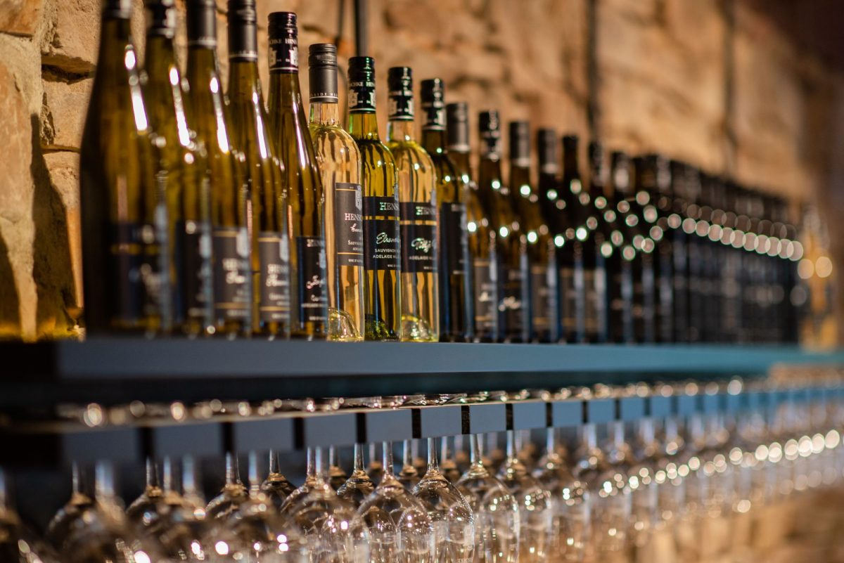 Henschke Wine at their Keyneton cellar